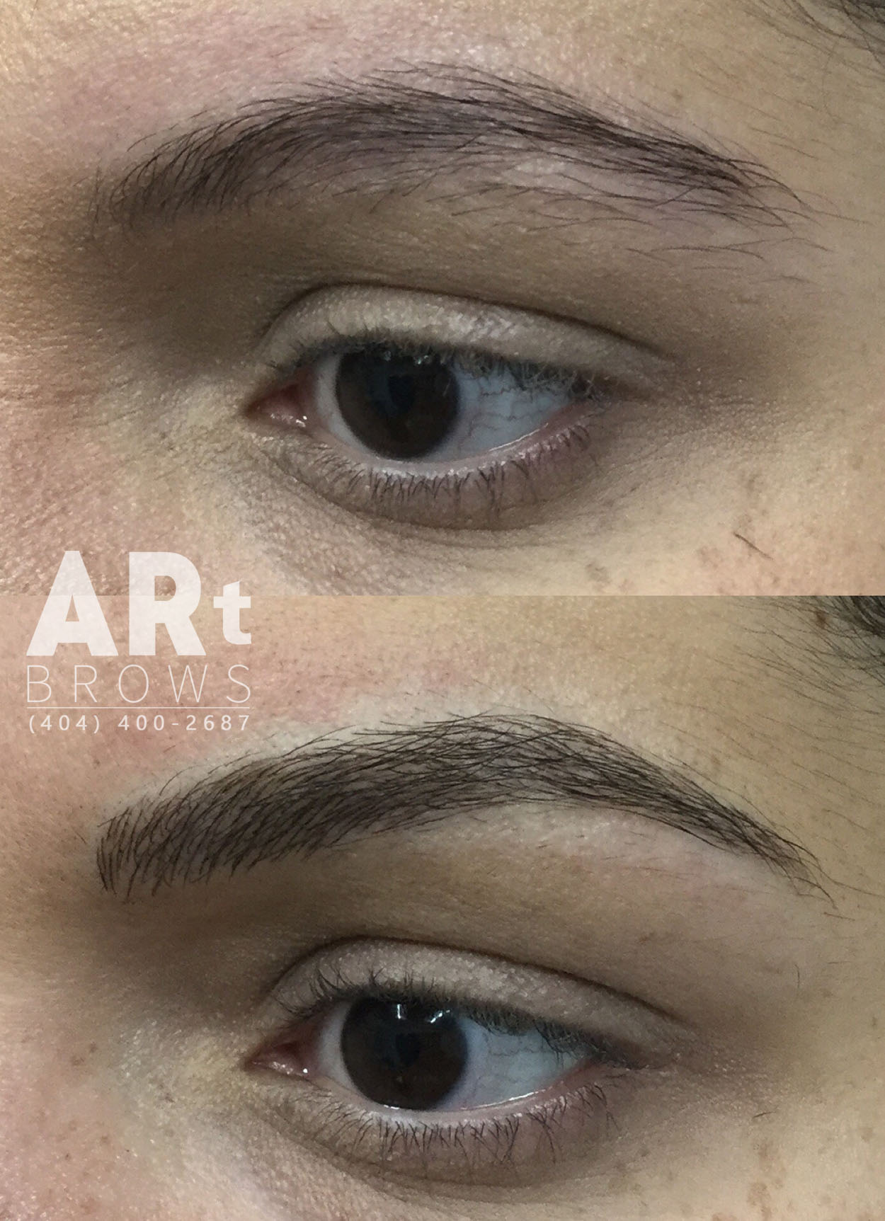 atlanta before and after microblading